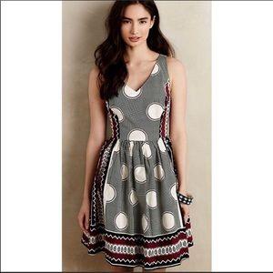 Anthropologie Maeve Monsoon Circle Dress